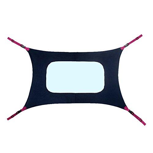 Daxoon Baby Hangmat voor wieg, Pasgeboren Wombs Bassinet, Comfortabele Ademende Net en Metalen Knop, Fit Baby Bed【Mimics Womb-Sleep Sweet】
