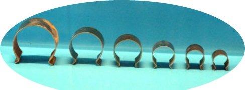 Jeha 20 mm Gewächshaus - Klammern Gewächshausklammern Gewächshausclip (15 Stück)