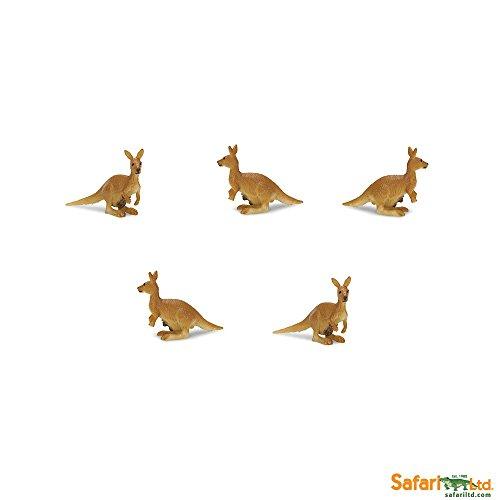 Safari Ltd. - Good Luck Minis - Glücksminis - Kängurus 5 Stück