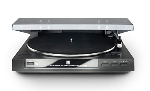 Dual DT 210 USB G - Fully automatic turntable with USB output and...