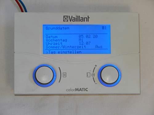 VAILLANT calorMATIC VRC 430 Raumtemperaturregler, Betrieb: 24V, NEU offiziell UNBENUTZT im OVP