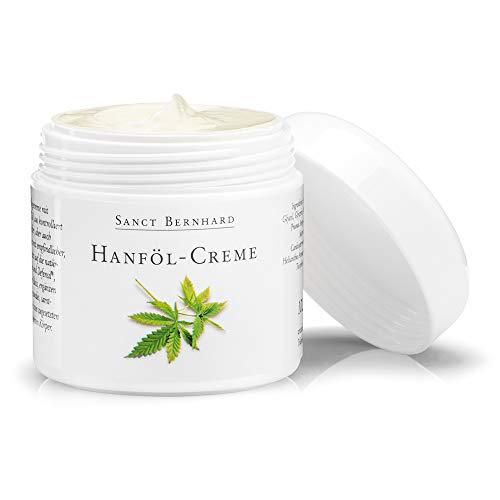 Sanct Bernhard Hanföl-Creme mit 10% echtem Hanföl (Cannabis Sativa Seed Oil) aus kontrolliert biologischem Anbau, Inhalt 100ml