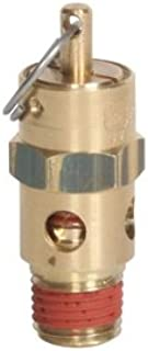 Midwest Control ST25-40 ASME Soft Seat Safety Valve, 40 psi, 1/4