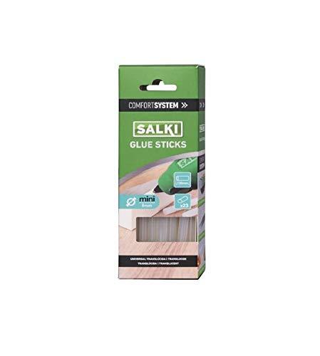 SALKI 04301000 04301000-Glue Sticks Mini translucida Caja pequeña, Metal, L