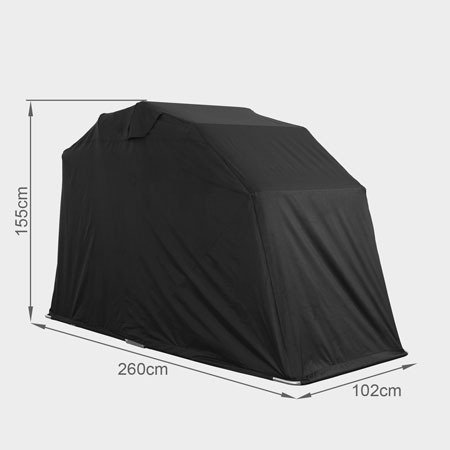 Generic New Motorbike Folding Cover Outdoor Tent Garage Motorcycle Motor Bike Shed Storage