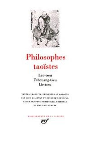 Philosophes taoïstes, tome 1