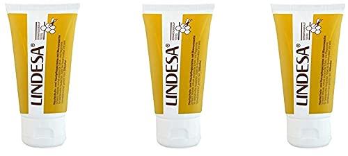 3x LINDESA® PROFESSIONAL 50ml PE Tube