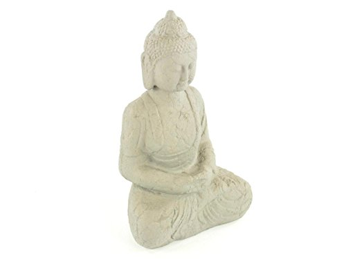 Aniba Design sitzender Buddha Abmessung ca. 38x26x61 cm ABBU007