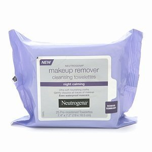 Neutrogena Makeup Remover Cleansing Towelettes Night Calming, 25 Count, 3pk