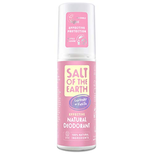 Salt Of The Earth Pure Aura Lavendel and Vanille Natural Deo Spray 100 ml, 86283