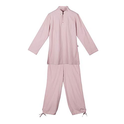 Tai Chi Anzug Yoga-Kleidung aus Baumwolle und Leinen passt zu Zweiteiliger Meditationskleidung für Frauen
