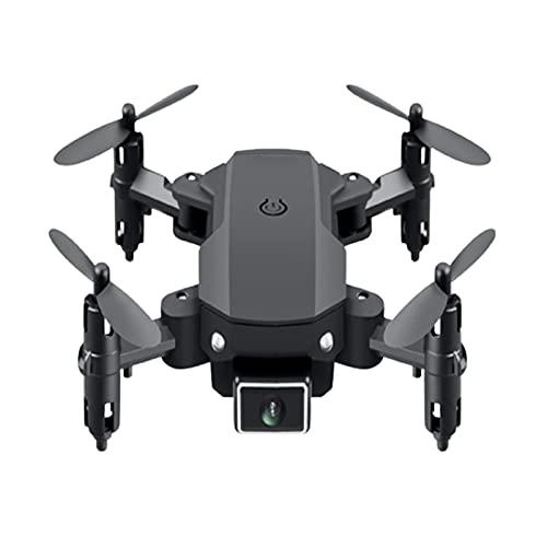 JJDSN Drone aéreo 4K HD Cámara Dual Plegable Quad-Rotor 360 Modo sin Cabeza Vuelo de trayectoria 15 Minutos Transmisión en Tiempo Real de Video de Gestos 1012.53cm Negro