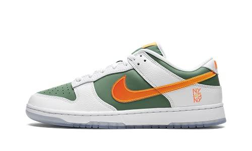 Nike Mens Dunk Low DN2489 300 NY vs NY - Size 11 White/Green-Orange