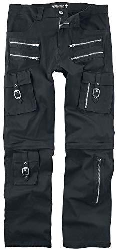 Gothicana by EMP 2 in 1: Hose und Shorts Männer Jeans schwarz W33L34