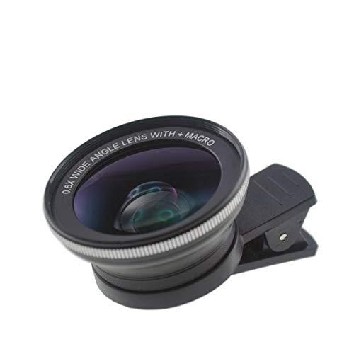 System-S universele clip-on lens full screen groothoek + macrolens voor smartphone en tablet PC