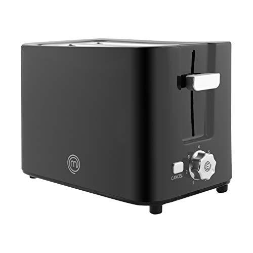 MasterChef 525499 Tostadora, 7 niveles de temperatura, Funciones automáticas de apagado y expulsión de las tostadas, Potencia 700 w, Plastic