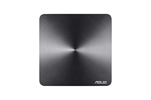 ASUS VM45-GC072Z Desktop-PC (Intel Celeron 3865U, 4GB RAM, 64GB SSD, Intel HD Graphics 610, Win 10 Original) eisgrau