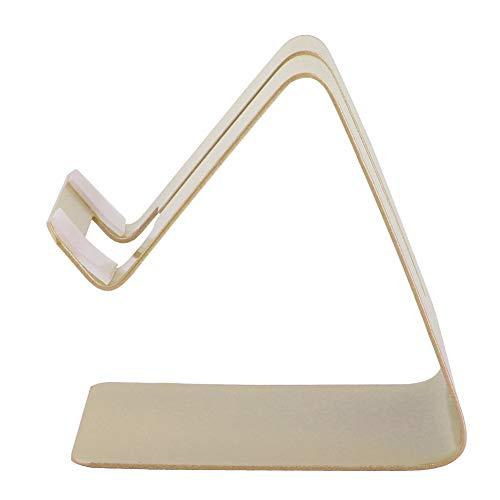 Akozon Telefoonhouder Lazy Holder Metalen gsm-standaard Tablet tafel houder Beeldscherm, video, live, uitzending Luie beugel(Goud)