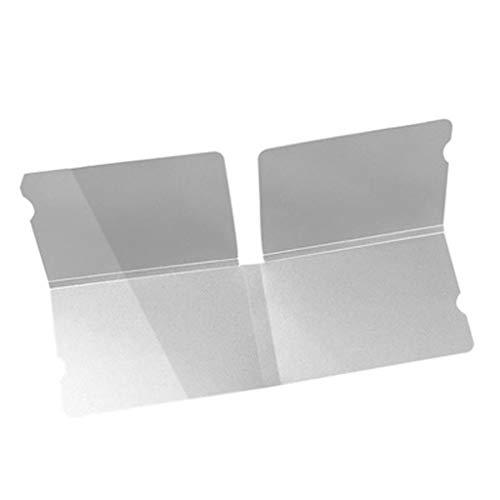 Pwtchenty 1/10/50 PCS Mund Muffel-Organizer Maske Ordner Tragbare Gesichtsmasken Speicher Clip Gesichtsmaske Aufbewahrungstasche Einweg-Masken-Speicher-Klipp beweglicher