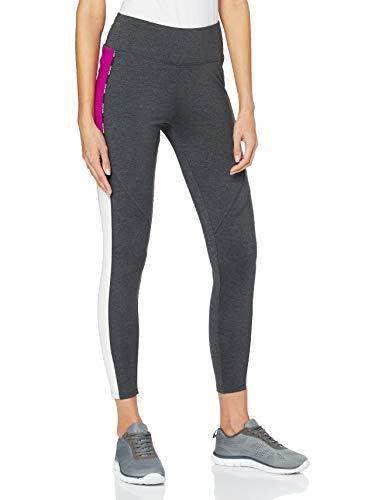 ESPRIT Sports Damen Tights Edry Trainingshose, Anthracite Mesh (011), L
