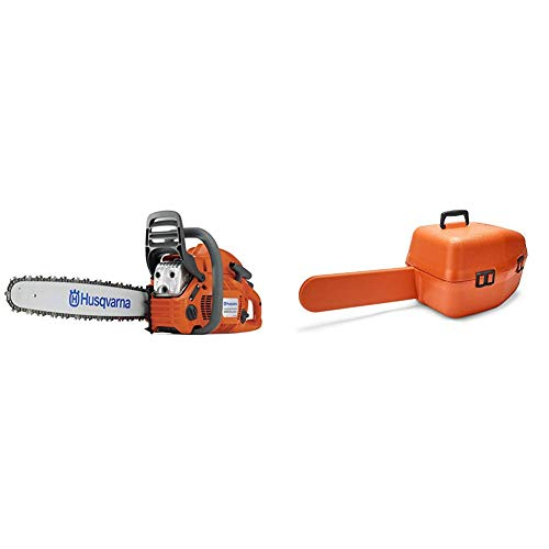 Fantastic Deal! Husqvarna 455 18 in. 55.5cc Gas Chainsaw with Classic Carry Case