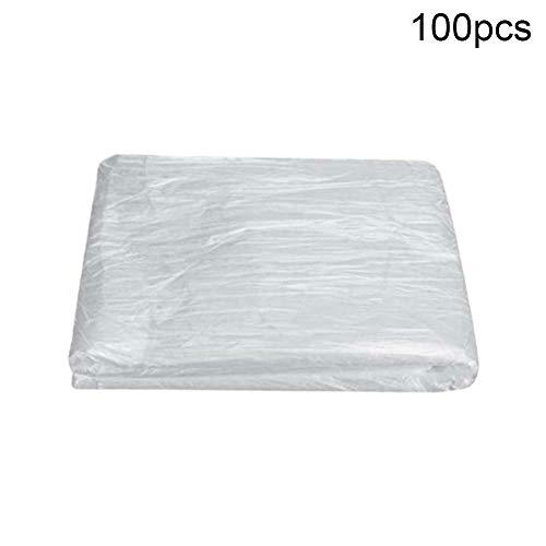 N /A Fodera per divano monouso 100 pezzi fodera per divano letto monouso cuscino per materasso massaggio divano (White, 100pcs)