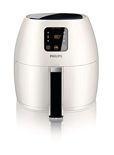 Philips Starfish Technology XL Airfryer, Digital Interface, White - 2.65lb/3.5qt- HD9240/34