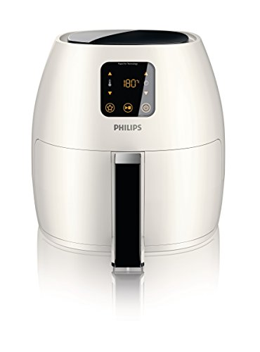 Philips Starfish Technology XL Airfryer, Digital Interface, White - 2.65lb/3.5qt- HD9240/34
