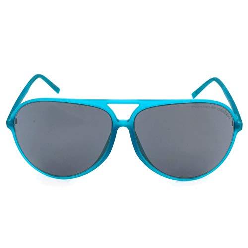 Porsche Design Sonnenbrille P8595 A 63 12 140 Aviator Sonnenbrille 63, Blau