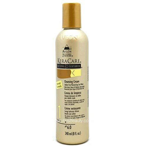 Avlon KeraCare Natural Textures Crème, Shampoing, 1, Nettoyant 240 ml/8 Fl. oz