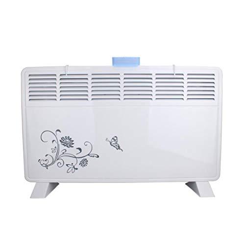 Calefactor electrico Calentador eléctrico - 1600W Calentador de espacios, Quick Heat con Base de pie, calentador de sitio con...