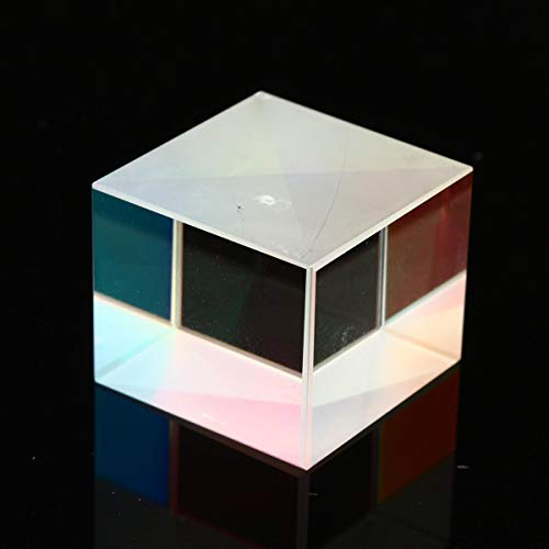 feilai Lab & Scientific Supplies 4 Stück 20 x 20 x 17 mm Defektes Kreuz dichroitisches Glas X-Cube Prisma Cube RGB Kombinator Splitter Prisma