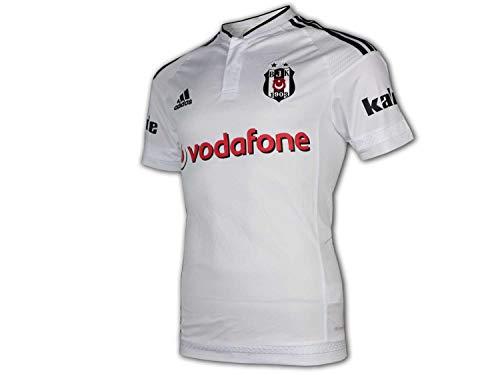 adidas Besiktas Istanbul Home Jersey 2015/16 weiß BJK 1903 Fußball Trikot Shirt, Größe:L