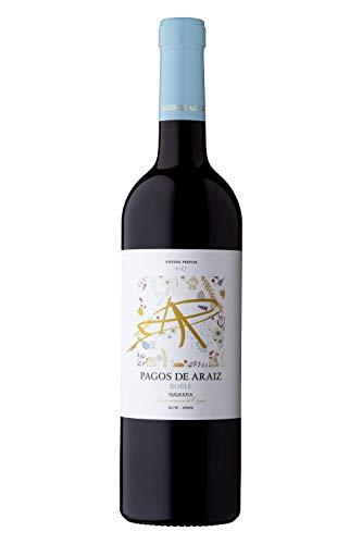Pagos De Araiz D.O. Navarra 2017 Roble Vino Tinto - 3 Paquetes de 750 ml - Total: 2250 ml