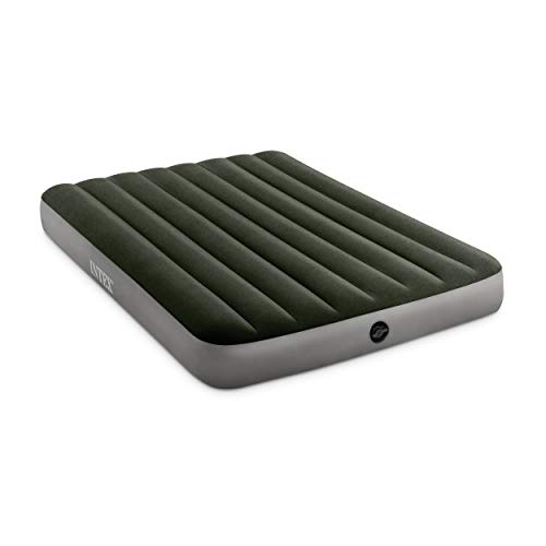 Intex Unisex's Prestige Downy Airbed, Green, Full