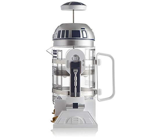 Star Wars Kaffeepresse 4 Tassen French Press French Press Kaffeemaschine 960ml Home Mini Star Wars Manuelle Kaffeekanne, 960ML / 32.5oz