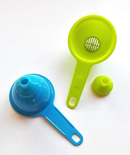 Happyfriends 92024 - Colador embudo plástico