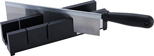 Kraftmann 50850 | Caja de ingletes con sierra