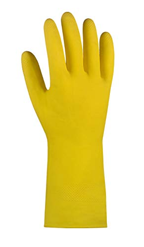 (10 Paar) teXXor Handschuhe Haushaltshandschuhe NATURLATEX 10 x gelb XL