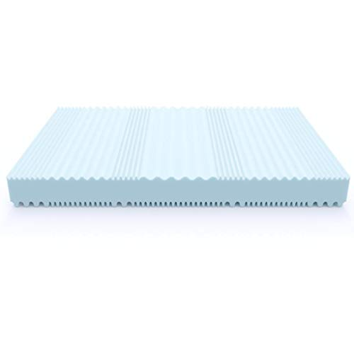 MSS Aqua Deluxe - 7 Zonen Wellness Kaltschaummatratze 16 cm - Härtegrad H4 & H5 - Matratze Wendematratze Kaltschaum Oeko-TEX - (90 x 200 cm, H5)