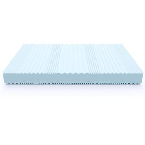 MSS Aqua Deluxe - 7 Zonen Wellness Kaltschaummatratze 16 cm - Härtegrad H2 & H3 - Matratze Wendematratze Kaltschaum Oeko-TEX - (80 x 200 cm, H3)