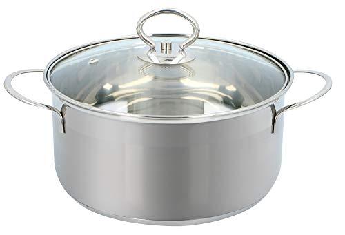 Alpina kookpan - Ø 20cm - glazen deksel - alle warmtebronnen
