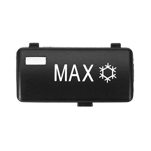 YANGFAN E39 X5 E53 Coche Calentador de Aire Calentador Clima Clima Ventilation MAX Control Botón Interruptor de Teclas, para Serie B & MW5 E39 X5 E53 M5 Botón de Interruptor de Piezas automáticas