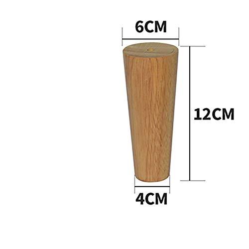 Sofa poten massief houten voeten, TV-meubel nachtkastje, hoge houten meubels accessoires, een set van 4,12cm