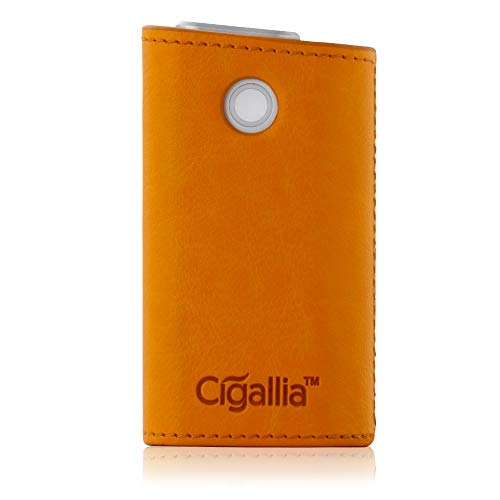 Cigallia(シガリア) glo レザーケース ソフトレザー PUレザー gloケース 収納ケース レザー カバー 3R SYSTEMS キャメル