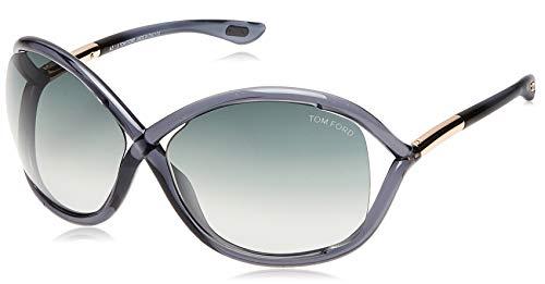Tom Ford Damen FT0009 0B5 64 Sonnenbrille, Schwarz (Color)