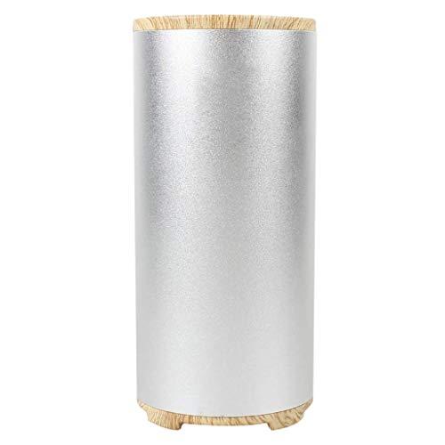 WLGQ Mini purificador de Aire, purificadores de Escritorio para el hogar Que Reduce los olores y Gases Desodorante para Ropa, Zapatos, Juguetes, Plateado