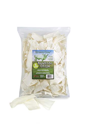 Green Cow Rawhide Natural Chips