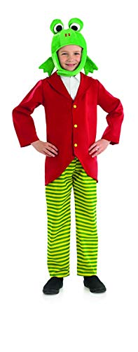Fun Shack FNK4010XL kostuum, Unisex kinderen, Mr Toad, X-Large