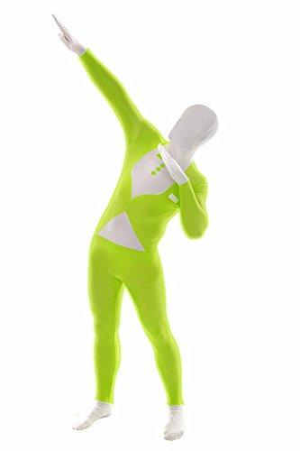 Morphsuits MGG2 - Luminoso Smoking Costume, XXL Verde